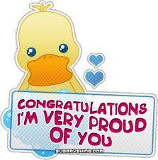 Congratulationsproud